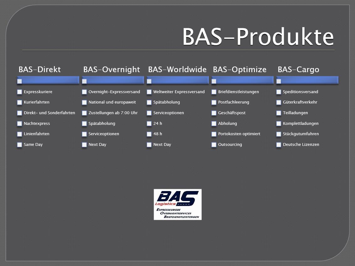 BAS-Produkte